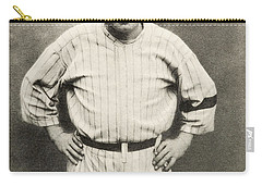 Babe Ruth Portrait Carry-all Pouch