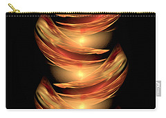 Carry-all Pouch featuring the digital art Babel - The Tower To Heaven by Giada Rossi