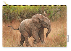 Baby African Elelphant Carry-all Pouch