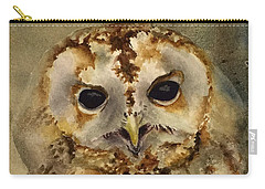 Baby Barred Owl Carry-all Pouch