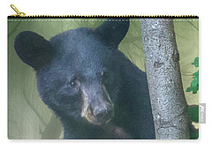 Baby Bear Takes A Peek Carry-all Pouch