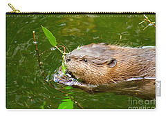 Baby Beaver Carry-all Pouch by Sean Griffin