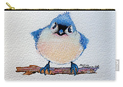 Baby Bluebird Carry-all Pouch