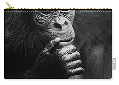 Carry-all Pouch featuring the photograph Baby Bonobo by Helga Koehrer-Wagner