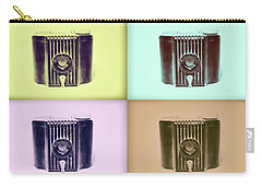 Baby Brownie Camera Four Panel Art Deco Print Carry-all Pouch