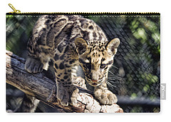 Baby Clouded Leopard Carry-all Pouch
