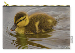 Baby Duck Carry-all Pouch by John Roberts