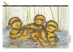 Baby Ducks For Ma Carry-all Pouch