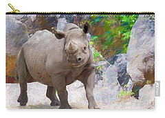 Carry-all Pouch featuring the painting Baby Edition 2 by Judy Kay