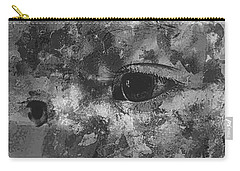 Baby Eyes, Black And White Carry-all Pouch