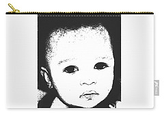 Baby Face 2 Carry-all Pouch by Terry Wallace