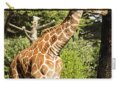 Baby Giraffe 2 Carry-all Pouch by Suzanne Luft