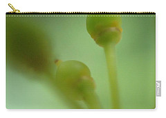 Carry-all Pouch featuring the photograph Baby Grapes by Christina Verdgeline