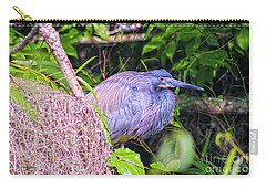 Baby Great Blue Heron - Ardea Herodias Carry-all Pouch