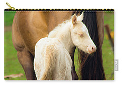 Baby Horse By Mom Carry-all Pouch