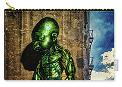 Carry-all Pouch featuring the photograph Baby Hulk by Chris Lord