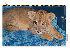Baby Lion Carry-all Pouch