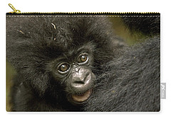 Baby Mountain Gorilla  Carry-all Pouch by Ingo Arndt