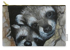 Baby Raccoons Carry-all Pouch