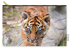 Baby Sumatran Tiger Cub Carry-all Pouch