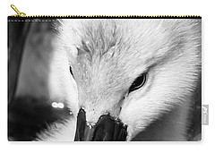 Baby Swan Headshot Carry-all Pouch