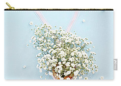 Baby's Breath Ice Cream Cone Carry-all Pouch