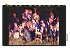 Bacchanalian Freak Show With Hieronymus Bosch Treatment Carry-all Pouch