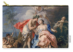Bacchus And Ariadne Carry-all Pouch by Jacopo Amigoni