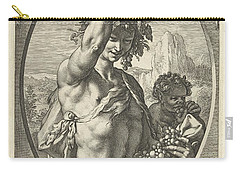 Bacchus God Of Ectasy Carry-all Pouch