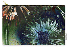 Bachelor Button Trio Carry-all Pouch