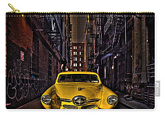 Back Alley Taxi Cab Carry-all Pouch
