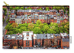 Carry-all Pouch featuring the photograph Back Bay Boston  by Carol Japp