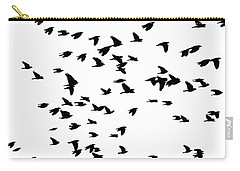 Back Birds In Flight Carry-all Pouch
