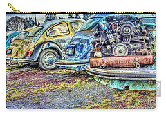 Carry-all Pouch featuring the photograph Back End Bugs by Jean OKeeffe Macro Abundance Art