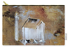Carry-all Pouch featuring the painting Back In The Day by Judith Rhue