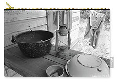 Back In Time B - W Carry-all Pouch