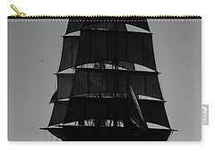 Back Lit Tall Ship Carry-all Pouch