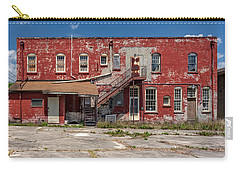 Carry-all Pouch featuring the photograph Back Lot by Christopher Holmes