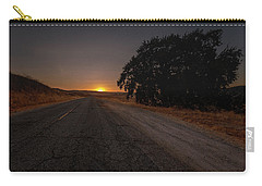 Back Road From Bradley Carry-all Pouch