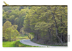 Carry-all Pouch featuring the photograph Back Road Spring by Alan L Graham