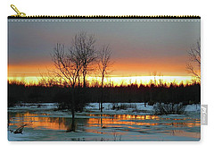 Back Roads Of Clayton Carry-all Pouch
