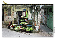 Back Street Veggies Store I Carry-all Pouch