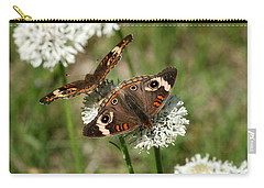 Back To Back Butterflies Carry-all Pouch