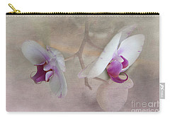 Carry-all Pouch featuring the photograph Back To Back by Judy Hall-Folde