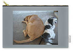 Back To Back Carry-all Pouch by Val Oconnor