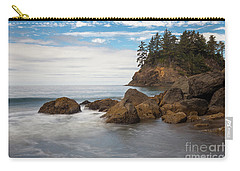 Back To The Beach Carry-all Pouch by Mark Alder