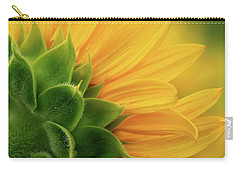 Back View Of Sunflower Carry-all Pouch