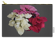 Background Choice-pointsettias Carry-all Pouch