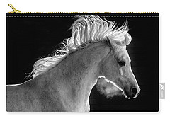 Backlit Arabian Carry-all Pouch by Wes and Dotty Weber