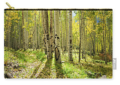 Backlit Aspen Trail Carry-all Pouch